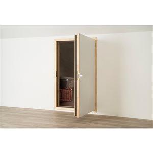 Trappe d'accès en bois DWF par FAKRO de 35 po x 27 po