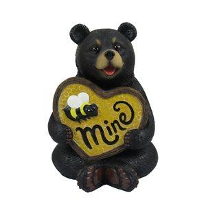 Figurine en polyrésine en forme d'ours de IH Casa Decor