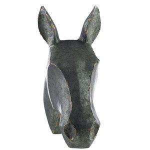 Figurine en résine en forme de tête de cheval de IH Casa Decor