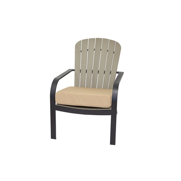 Coussin patio Bozanto Inc pour chaise de., beige