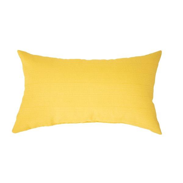 Coussin jaune Bozanto Inc. pour chaise de patio