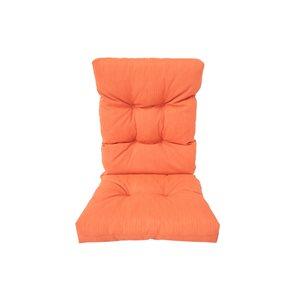Coussin de chaise de patio à dossier haut orange par Bozanto Inc.