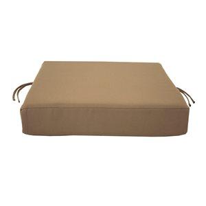 Coussin brun Bozanto Inc. pour chaise de patio