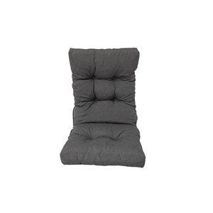 Coussin gris de chaise de patio à dossier haut par Bozanto Inc.