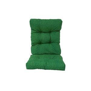 Coussin vert de chaise de patio à dossier haut de Bozanto Inc.