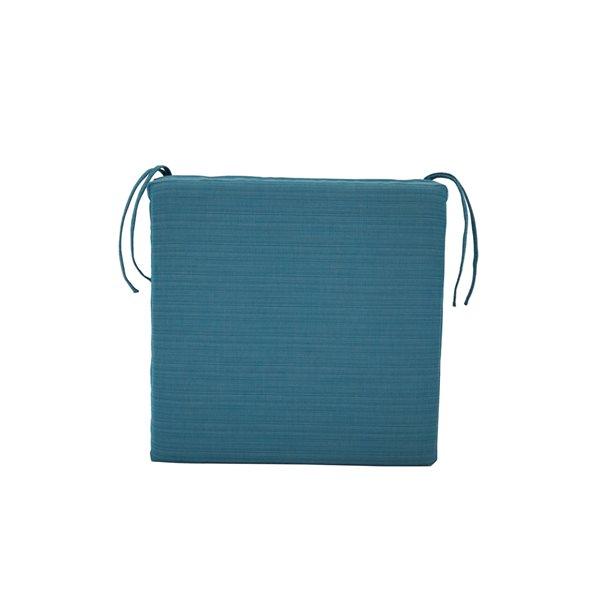 Coussin Bleu Bozanto Inc. pour chaise de patio