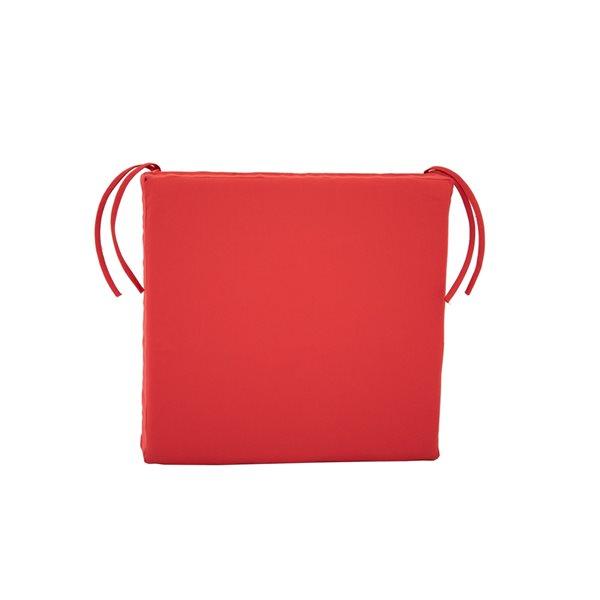 Bozanto Inc. Patio Chair Red Cushion
