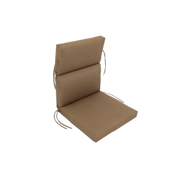 Bozanto Inc. Brown High Back Patio Chair Cushion