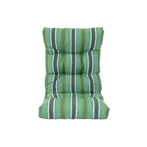 Bozanto Inc. Green High Back Patio Chair Cushion