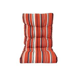 Coussin rouge Bozanto Inc. pour chaise de patio à dossier haut