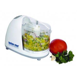 Better Chef 1.5-Cup 450-Watt White 1-Blade Mini Food Chopper