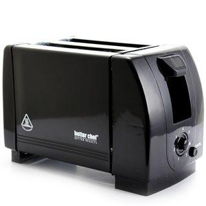 Better Chef Black 2-Slice 750 W Toaster