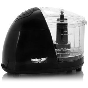 Better Chef 1.5-Cup 450-Watt Black 1-Blade Mini Food Chopper