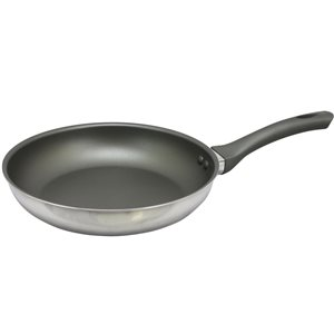 Oster Cuisine 1-piece Rivendell Frying Pan 10-in Stainless Steel Skillet