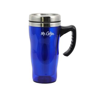 Mr Coffee Morning Fix 15oz Travel Mug with Lid