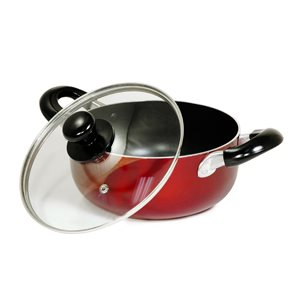 Better Chef 1-piece 2 Quart Dutch Oven 7-in Aluminum Cooking Pan Lid Included