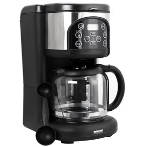 Better Chef Ultra Brew Digital 12-Cup Black Residential Coffee Maker