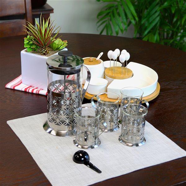 Mr Coffee Trellise 5-Piece Coffee Press Set