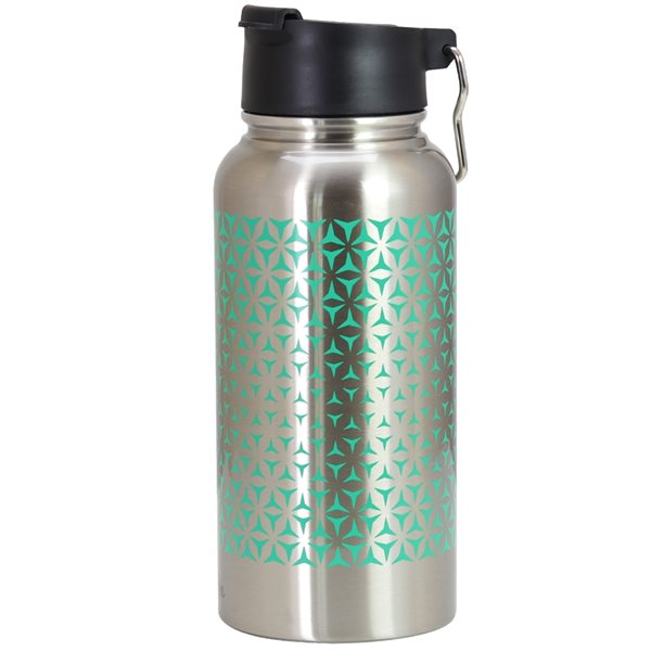 Mr Coffee Cabot 30oz Thermal Bottle in Teal