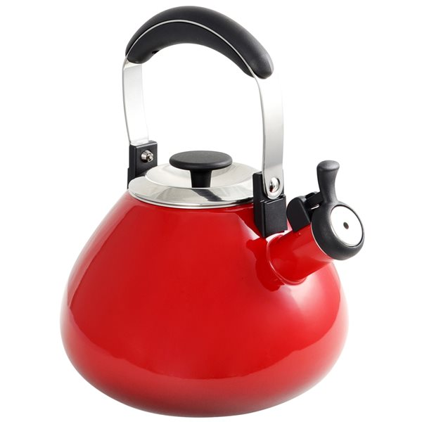 Mr. Coffee Marlowe Red 12.68-Cup Cordless Stovetop Kettle