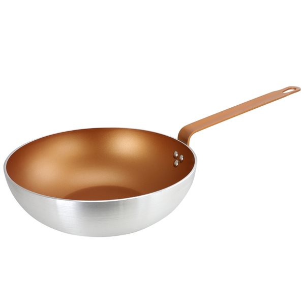 Gibson Home 1-piece Slingblade 11 Inch 11-in Ceramic Wok