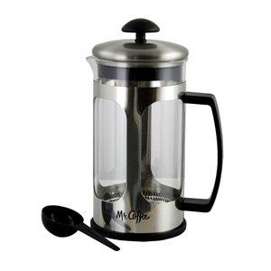Mr Coffee Daily Brew 1.2L Quart Coffee Press