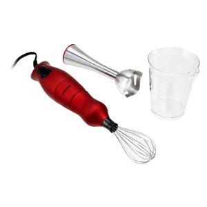 Better Chef 3-Piece 2-Speed Red 200-Watt Immersion Blender