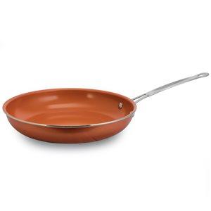 Better Chef 1-piece Copper Frying Pan 10-in Aluminum Cooking Pan