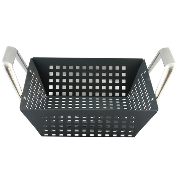 Gibson Home Romford Steel Square Non-Stick Grill Basket