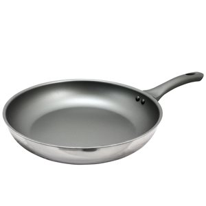 Oster Cuisine 1-piece Rivendell Frying Pan 12-in Stainless Steel Skillet