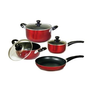 Better Chef 1-piece 7-Piece Cookware Set 14-in Aluminum - Lid Included