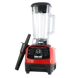 Mélangeur avec contrôle d'impulsions rouge de 1100 Watts parBetter Chef Health Pro,1,8 oz