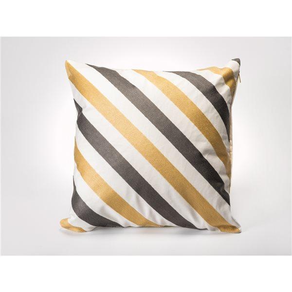Starlite Myne 20-in Indoor Square Decorative Pillow