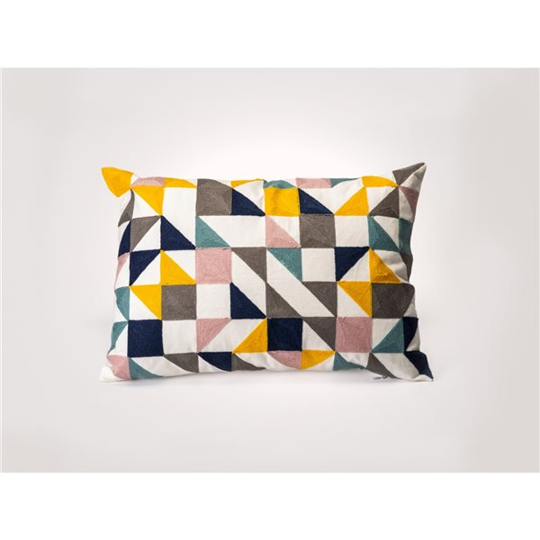 Starlite Myne 20-in x 14-in Rectangular Indoor Decorative Pillow