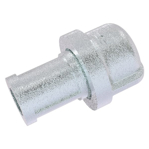 Allied Brass Pipeline 1.20-in Polished Chrome Novelty Industrial Cabinet Knob