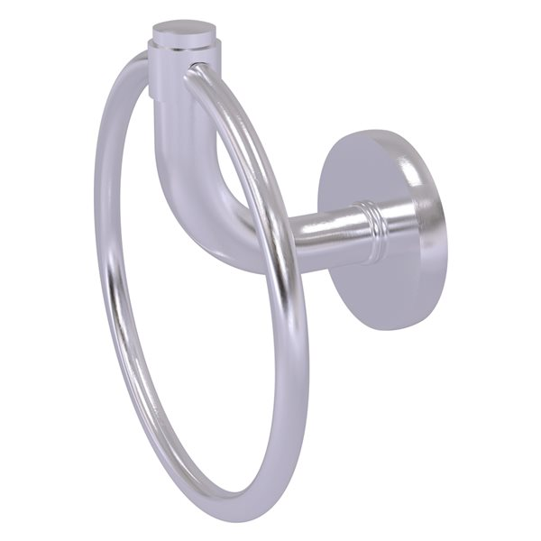 Allied Brass Remi Satin Chrome Wall Mount Towel Ring