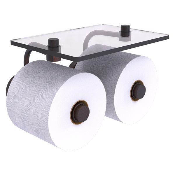 Allied Brass Waverly Place Venetian Bronze Wall Mount 2-roll Toilet Paper Holder