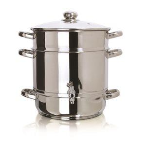 Extracteur à jus pour cuisinière de 12oz en acier inoxydable Euro Cuisine