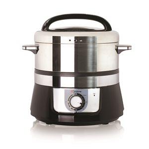 Cuiseur à vapeur programmable de 5L Euro Cuisine