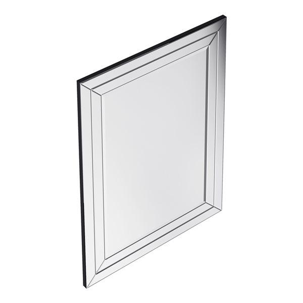 A&E Bath and Shower Beach 30-in Rectangular Bathroom Mirror