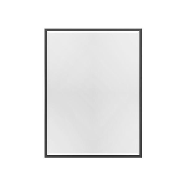 A&E Bath and Shower Mexia 35.4-in Black Rectangular Bathroom Mirror