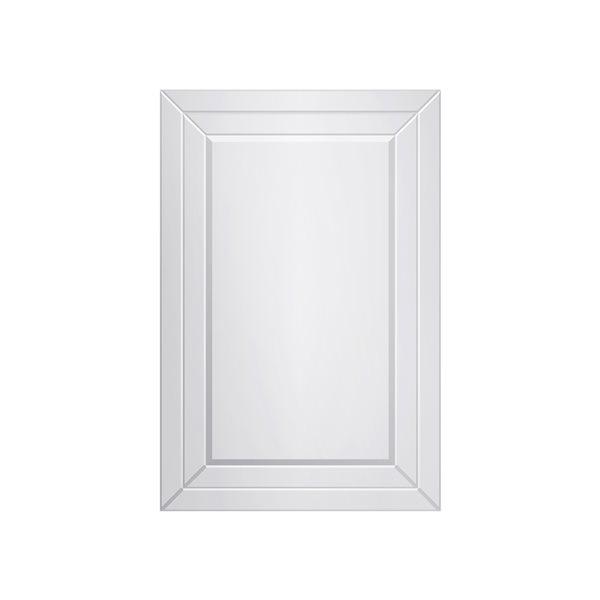 A&E Bath and Shower Beach 24-in Rectangular Bathroom Mirror
