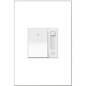 Legrand adorne 4-Speed 6 A White Slide Fan Control