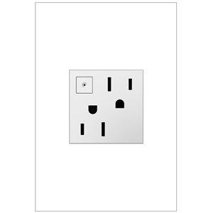 Prise de courant blanche à économie d'énergie résidentielle décorative inviolable adorne par Legrand de 15 A
