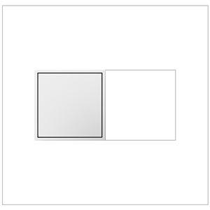 Prise de courant blanche Pop-Out à 2 postes résidentielle décorative inviolable adorne par Legrand de 15 A
