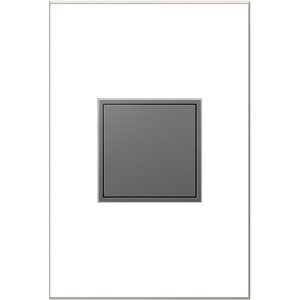 Prise de courant gris magnésium Pop-Out résidentielle décorative inviolable adorne par Legrand de 15 A