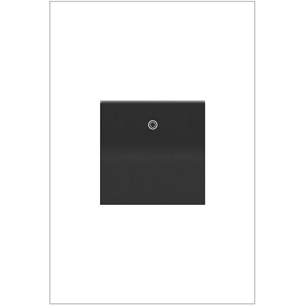 Interrupteur à bascule adorne par Legrand à 4 voies, graphite de 20 A
