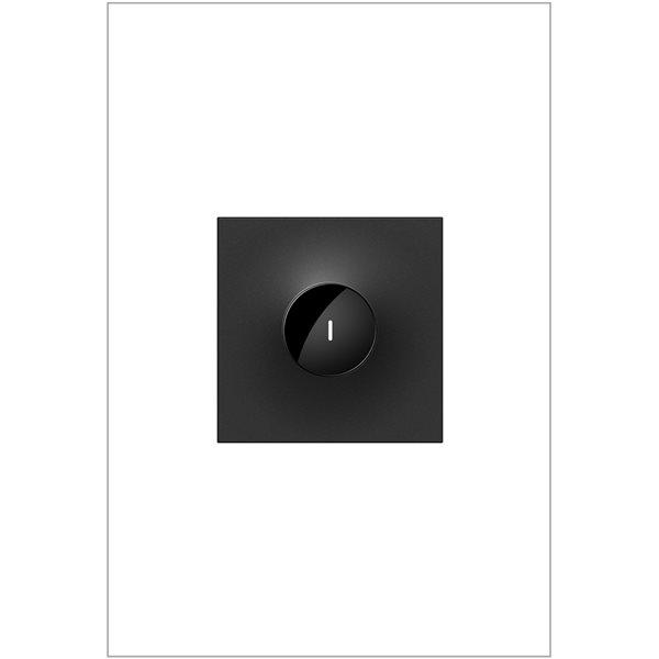 Interrupteur illuminé sans contact adorne par Legrand unipolaire et à 3 voies, graphite de 15 A