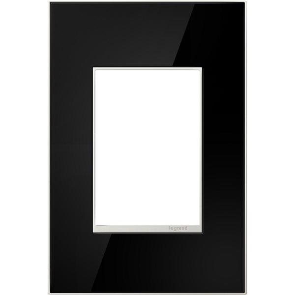 Plaque murale unique adorne par Legrand, noir