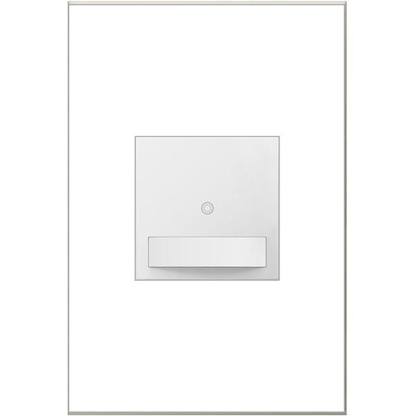 Interrupteur sans contact adorne par Legrand unipolaire et à 3 voies, blanc de 15-20 A